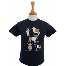 All  Kinds of Cows Fitted T-shirt