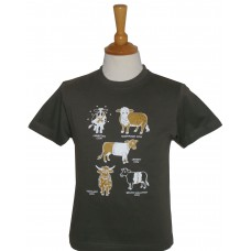 All  Kinds of Cows Children's T-shirt