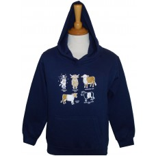 All Kinds of Cows Children's Hoodie