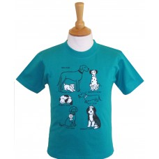 All Kinds of Dogs children's T-shirt