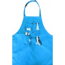 All kinds of Dogs adult apron