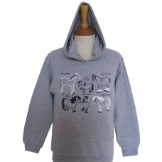 All Kinds of Horses children's Hoodie