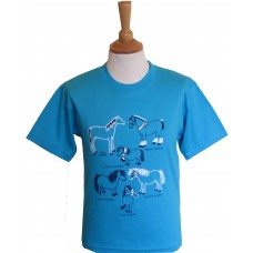 All Kinds of Horses children's T-shirt
