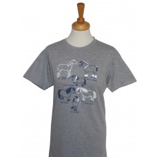 All Kinds of Horses adult T-shirt