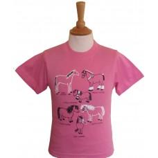 All Kinds of Horses children's T-shirt