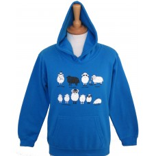 All kinds of sheep childrens hoodie