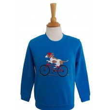 Biking Beagle Sweatshirt