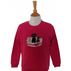 Basket of Puppies Sweatshirt
