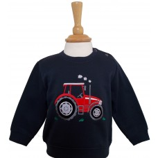 Big Red Tractor Babies Sweatshirt