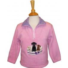 Basket of Puppies Fleece Jacket