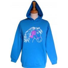 Bella adult hoodie Blue