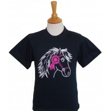 First Prize Pony childrens tee shirt in Navy