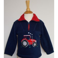 Big Red Tractor Fleece Jacket