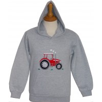 Big Red Tractor Hoodie