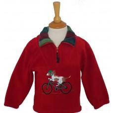 Biking Beagle Fleece Jacket