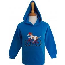 Biking Beagle Hoodie