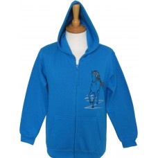 Black Flash children's zip hoodie
