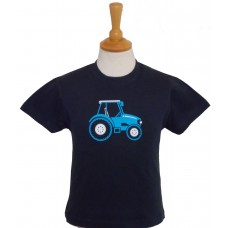 Blue Tractor Children's T-shirt