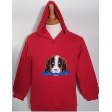 Christmas Jess children's hoodie