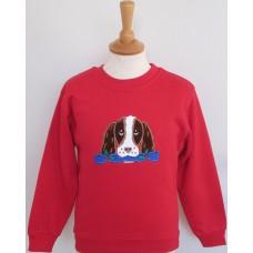 Christmas Jess children's  sweatshirt
