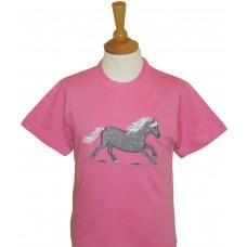 Dapple Pony T-shirt - PINK