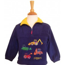Diggers Children's Fleece Jacket