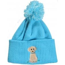 Dog pompom hat