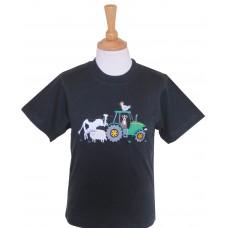 Farmyard T-shirt NAVY