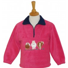 Fat Ponies Fleece Jacket