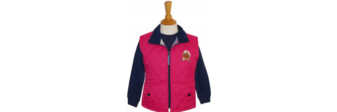 Fat Pony Quilted Gilet