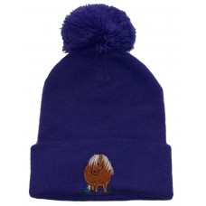 Fat Pony childrens pom pom hat