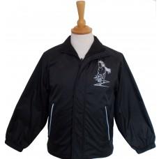 Flash Fleece lined childrens jacket black