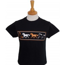 Four Horses Fitted T-shirt