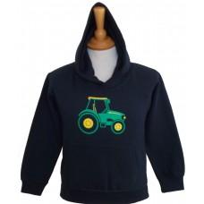 Green Tractor children's Hoodie