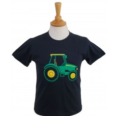 Green Tractor children's T-shirt