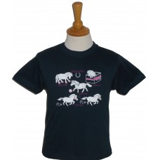 Horse World ladies fitted T-shirt