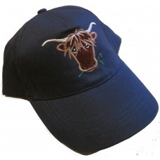 Highland Cow baseball cap