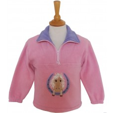 Horseshoe Pony Fleece Jacket
