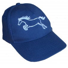 Jumping Pony childrens embroidered baseball cap