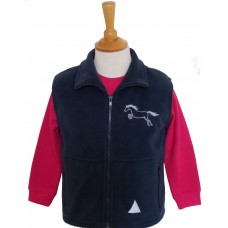 Jumping Pony children's fleece gilet