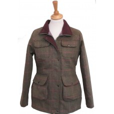 Ladies Fitted Tweed Jacket