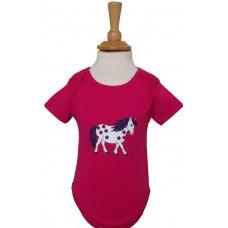Little Flower Pony Babies Romper
