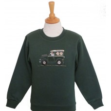 Offroader and Dogs Sweatshirt