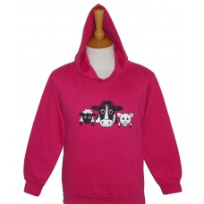 On The Farm children's hoodie