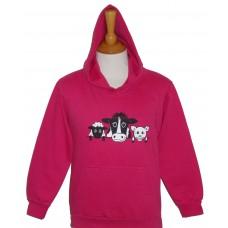 On The Farm children's hoodie