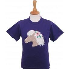 Palomino Poppy T-shirt purple