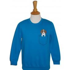 Pocket Dog children's sweatshirt