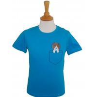 Pocket Dog children's T-shirt