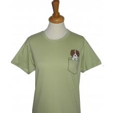 Pocket Dog adult's T-shirt