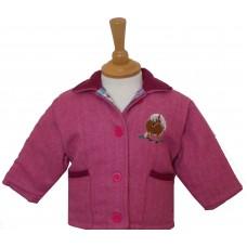 Ponies Baby padded Tweed Jacket